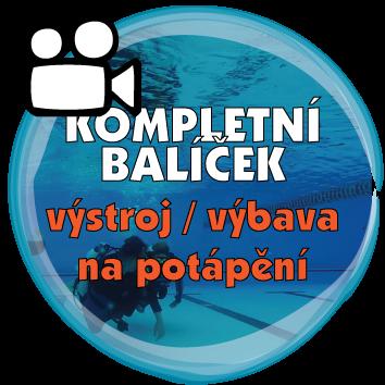 Kompletní balíček webinářů o potápěčské výstroji / vybavení na potápění